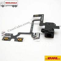 Hot sales Repair Parts iPhone 4G Headphone Jack Black  for iPhone 4+HongKong post free shipping