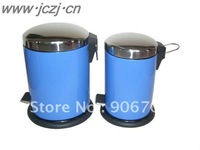 colorful stainless steel trash bin/3L BLUE