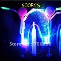 600PCS /LOT  Newest Toy LED Amazing Flying Umbrella Flashing Color Changing LED Helicopter Flying Umbrella OPP BAG CARD