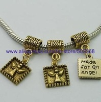 free shipping 32 pcs/lot,wholesale fashion lovely charms antique gold charms jewelry charms jewelry accessories