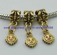 free shipping 42 pcs/lot,wholesale fashion lovely charms antique gold charms jewelry charms jewelry accessories