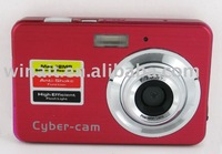 "Free shipping for Cheap 12MP Digital Camera with 2.7"" LTPS screen and Anti-shake, Face tracking"