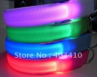 free shipping+20pcs-Wholesale - Pet collar,LED dog collar,Flashing dog collar ,led pet collar