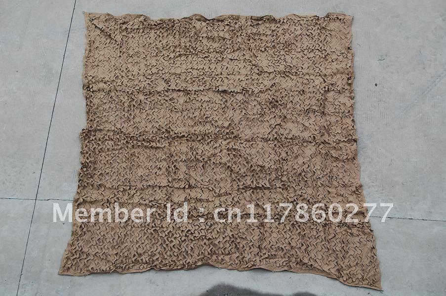 100%Polyester Netting fabric Camouflage Netting 2M(China (Mainland))