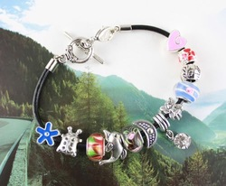 10Pcs European Style FAIRY ON EARTH charm Bracelet #20065(China (Mainland))
