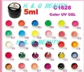 30 pure colours for chosing Hot sale  coloured uv gel,buliding gel polish Free shipping