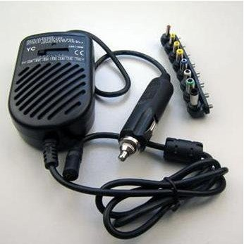 80W Auto Car Universal Charger Auto DC Power Adapter for notebook laptop(China (Mainland))