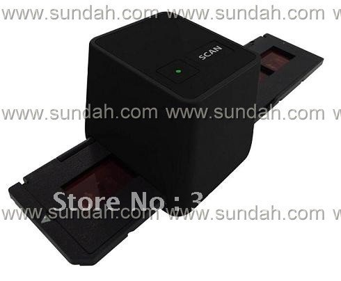 Free shipping,Wholesale driver free USB film scanner/converter/35mm negative film scanner,drop shipping(China (Mainland))