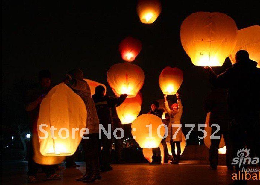 Ann-Brittany\'s blog: 15pcs Sky Lanterns Wishing Lamp SKY CHINESE ...