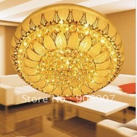 free shipping crystal ceiling lamp,D800mm ceiling light fixture