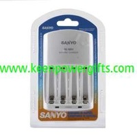 SanYo AA/AAA Ni-MH Battery Smart Super Rapid Charger with LCD Display