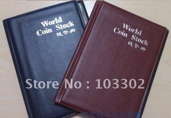 3*4cm professtional coin album,coin collection book,coin stock book wholesale/retail Free Shipping