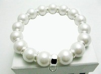 wholesale 925 Silver beautiful pearl bracelet / super price,Free shipping, FASHION JEWELRY,factory price. ZZ 05