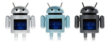 Portable Mini Google Android Figure MP3 Music Speaker