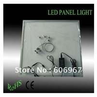 Free shipping,36W Slim 600*600*12mm Dimmable LED Panel light with Power Supply Warm White and Pure White