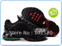 free ship fashion shoes black red TN MEN SPORTS  RUNNING SHOE  wholesale and retail