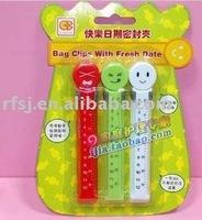 FREE SHIPPING Plastic Bag Sealer Clip, food bag sealing clip, 3pcs per Pack