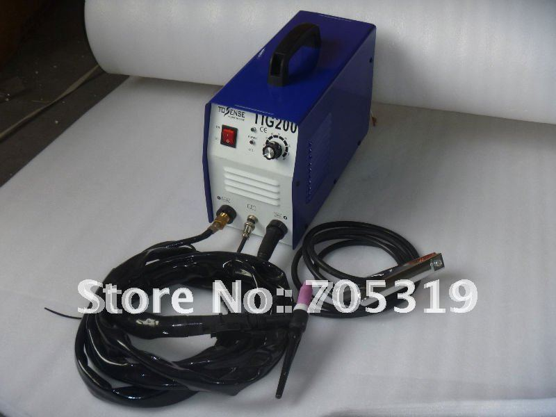 110v/220v inverter dc tig soldering machine TIG 200 /free shipping(China (Mainland))