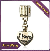 free shipping 20 pcs/lot,wholesale fashion lovely heart charms high-grade quality silver charms alloy charms jewelry accessories