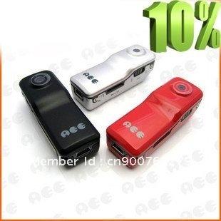 free shipping black  ssk mini dv camera mini dv player recorder video camera hidden camera md80  black