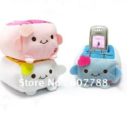 super cute Japanese Tofu Cellphone Mp4 PDA Stand Holder Seat(China (Mainland))