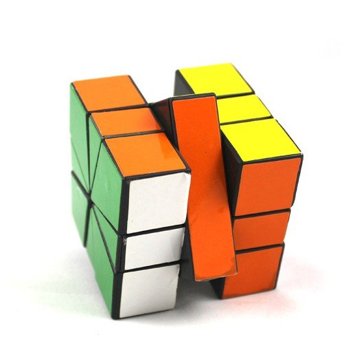 Wholesale Magic Cube Irregular Twist Magic Cube puzzles/magic puzzle/plastic cube + Free shipping(China (Mainland))