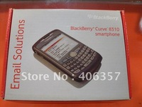 Promotion 50pcs/lot New saffron paper box packages for blackberry 8310 8320 free shipping by DHL