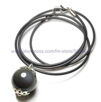 free shipping 12 pcs/lot,wholesale fashion  necklace  neck chain agate pendant  jewelry accessories