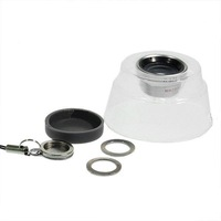 Universal 13mm Wide-Angle 0.67X Macro Lens for Cell Phones and Compact Digital Cameras