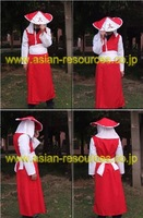 Wholesale Free Shipping Hot Selling Cheapest New Cosplay Costume CE3403 Naruto Sarutobi 5th Hokage