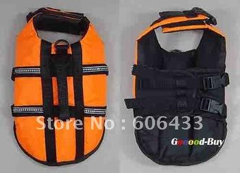 Pet Dog Swimming Life Jacket Preserver Safety Vest XXS XS S M L size