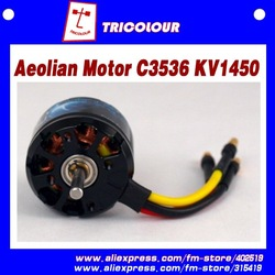 Brushless motors for hobby rc helicopters,Aeolian C3536 KV1450 rc airplane motor,10pcs/lot,#D07008(China (Mainland))