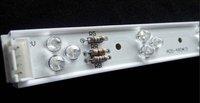 0.5m long led rigid bar,12R12G12B 5mm straw hat led;DC12V input