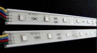 0.5m long led rigid bar,15pcs 5050 SMD RGB LED;DC12V input