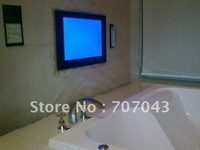 "Free shipping factory outlet 17"" Waterproof LCD TV / bathroom TV - mirror finish"