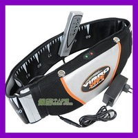 TV hot! super popular vibro shape slimming belt with heat function fitness belt/Portable receive bag for free #NP1010
