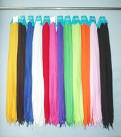 EMS Free Shipping 60 pair 45inch Mixed Color Cotton Fabric Shoelace SH1