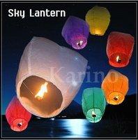 Free Shipping Wholesale Flame Sky Lantern, Fly Lucky Kongming Lantern, Oval Shape Design