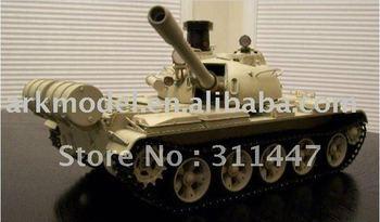 rc juguete 1/16 t55a medio tanque ruso