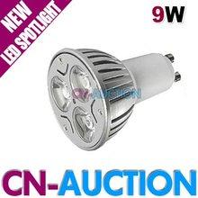 GU10/MR16/E27 9W LED Light Bulb 3*3W LED Spotlight Energy Saving Lamp DC12V, AC110V~220V (CN-LLB76) [Cn-Auction](China (Mainland))