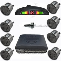 Car LED Display 8 Sensors Kit Reversing Parking Radar