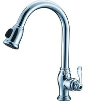 Free shipping CHROME  pull out kitchen  faucets