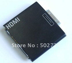 Dock to HDMI Adapter For iPad 1 2 /iPhone 4/ipod Touch4(China (Mainland))
