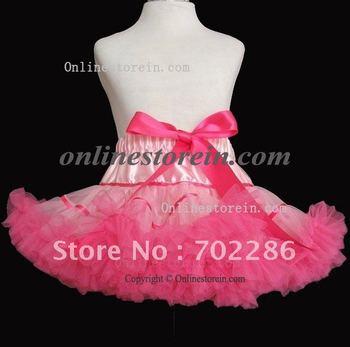 Wholesale mix color ribbon girls skirts,little girl tutu skirts, short pettiskirts.kids dancing skirts,baby girl summer skirts