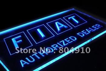 fiat Led Neon light sign custom sign wholesale 444