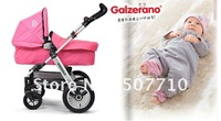 free shippment,good serive, factory direct-sell, aluminium alloy,baby jogger stroller with two back bigger wheels