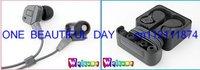 5pcs Genuine Professional IE8 In-ear Earphones headphones Black in box wholesale Free Shipping