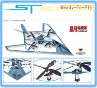 Walkera UFO-117 2.4GHz KIT ARF RC UFO 117 Heli RC 3D Gyro UFO helicopter airplane Quarto motors drive free shipping fee