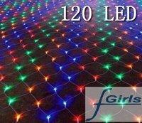 Color 120 LED NET lights for Party wedding garden,Christmas led light, 30pcs/lpot ,free shipping