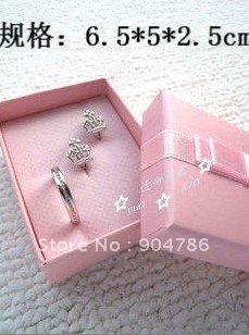 High grade Suit set jewelry box paper boxes/jewel case/jewellery box/packing boxes/necklace/gift/ring(China (Mainland))